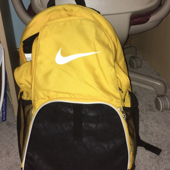 cheap for sale classic style discount shop Buy yellow nike bookbag | Up to 60% Discounts